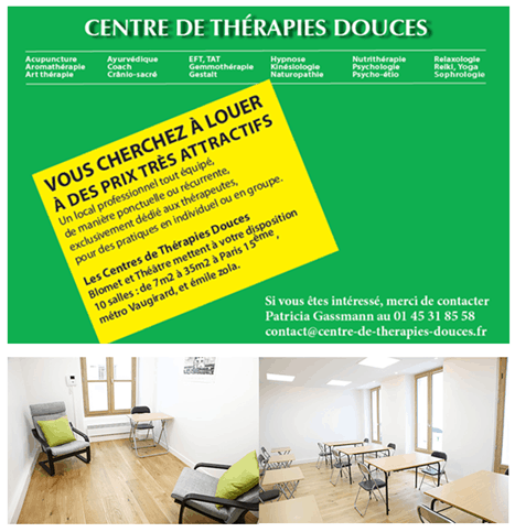 CENTRE DE THERAPIE DOUCES